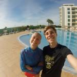 mit Jenni in der Sonne Portugals