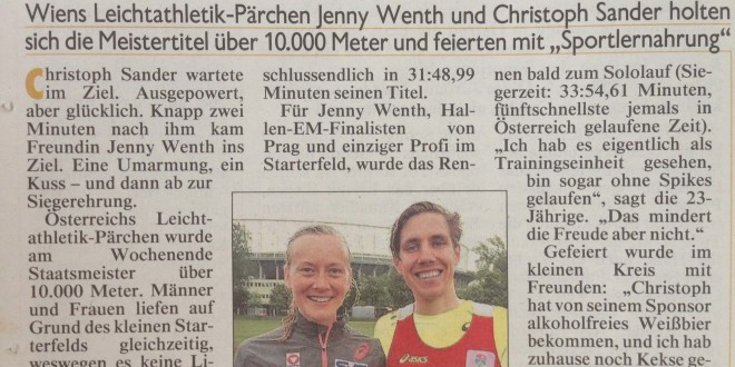 Kronen Zeitung, Mai 2015